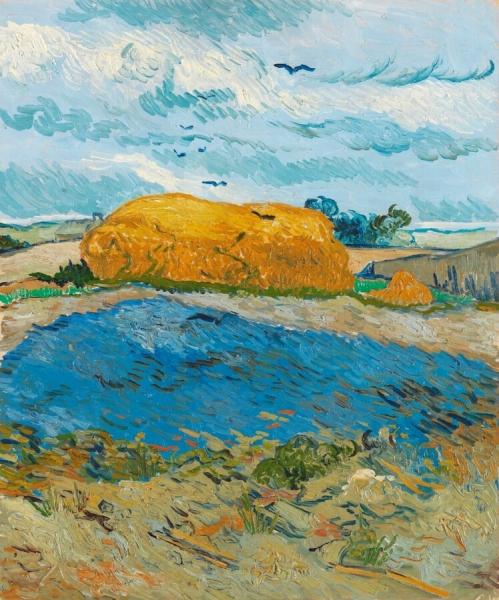 korenschelf-onder-wolkenlucht-vincent-van-gogh-44541-copyright-kroller-muller-museum